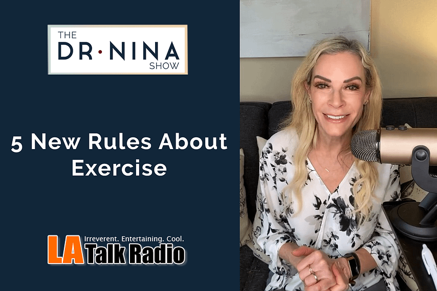 5 new rules about exercise