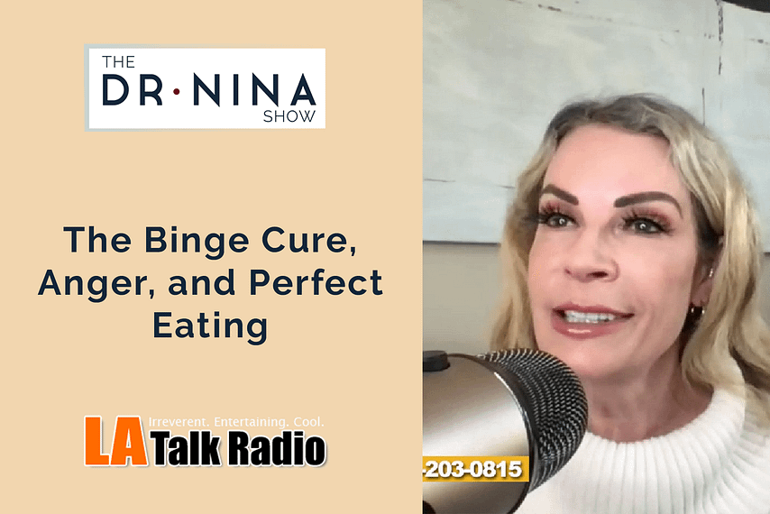 The Binge Cure, Anger, and Perfect Eating
